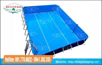 Bể bơi mini gia đình KT 5.1m x 6.6m x 1.2m