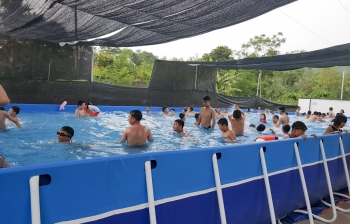 Thi công bể bơi lắp ghép tại Hà Nội